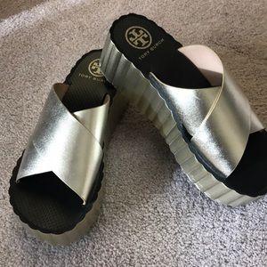 Tory Burch Flatform shoes